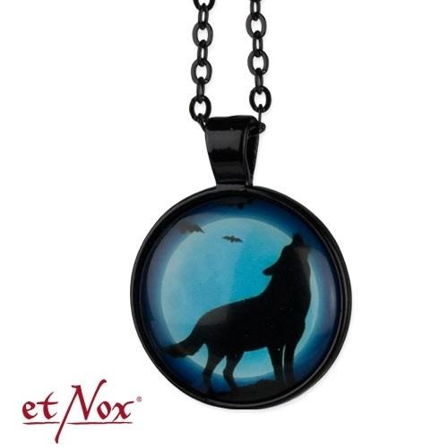 """etNox-Kette mit Anhänger """"Wolf"""""""