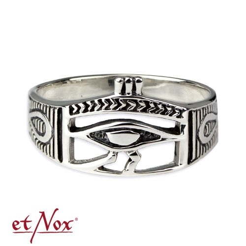 "etNox-Ring ""Auge des Horus"" 925 Silber"