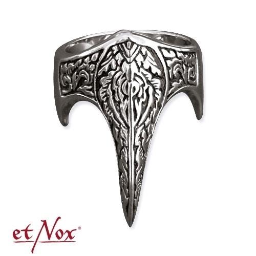 "etNox - Ring ""Fantasy Fingerspitze"" Edelstahl"